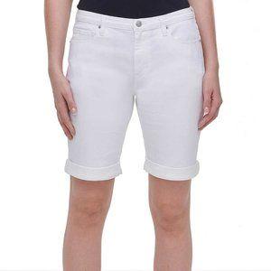 NWT DKNY Women's Bermuda Jean Denim Shorts